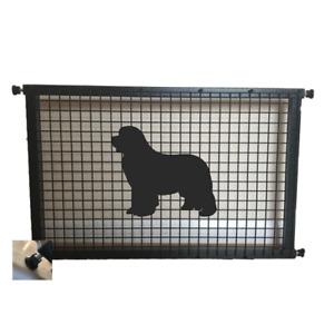 Newfoundland Dog Metal Puppy Guard