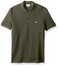 Lacoste Men's Short Sleeve Stretch Aventurine Croc Pique Polo-ph4014 Size 7/XXL