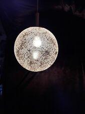 alte XXL Doria Haengelampe 60er 70er Jahre Pendant old Lamp 60s 70s Space Age