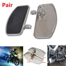2PCS Motorcycles Scooter Adjusted Left + Right Floorboard Foot Boards Pedal Firm