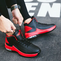 New Men's Fashion Basketball shoes Pu air cushion shoes High class sports shoes