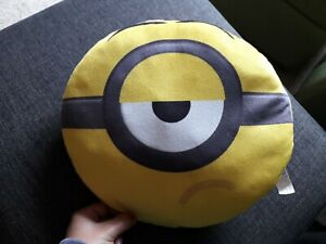 """Despicable Me Round Yellow Cushion Pillow. 12"""""""