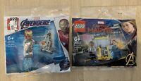 Flash Sale LEGO MARVEL Avengers 30453 Captain Marvel and LEGO 30452 Iron-Man New