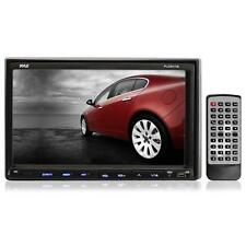 Pyle PLDNV78I 7-Inch Double-DIN Touchscreen LCD Monitor with DVD/CD/MP3/MP4/USB/
