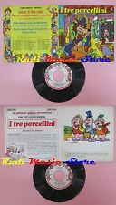 LP 45 7'' I TRE PORCELLINI 5 fiabe celebri 1970 italy SIGNAL S 111 cd mc dvd