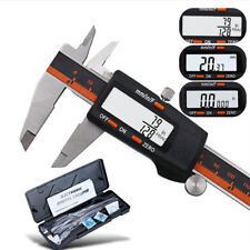 150mm Pro Vernier Caliper LCD Electronic Digital Gauge Stainless Micrometer Tool