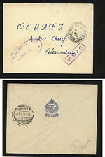 British Forces censor military cover 1944 nice cancels Kl0814