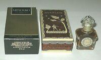 "Vintage Guerlain Mitsouko Perfume Bottle & Boxes 1/4 OZ Unused Full 3"" 2"" Height"