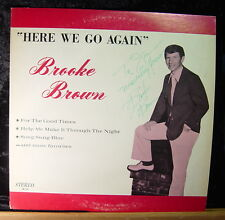 Brooke Brown-Here We Go Again (signed) LP
