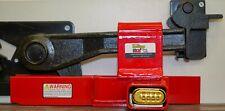 Heavy Duty Rolling Door Lock Combo Semi Trailer Box Truck Load Security Trucker
