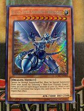 Yugioh Azul-Eyes Shining Dragon LCKC-EN008 Secret Rare 1st Edición