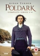 Brand New & Sealed Poldark Series 1-4 DVD Box Set 2018 Aidan Turner UK Free PP