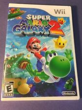 Super Mario Galaxy 2 [ First Print White Case ] (Wii) NEW