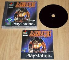 Akuji The Heartless PAL PS1 PSX Playstation 1 Spiel Game auch PS2 PS3 PSone