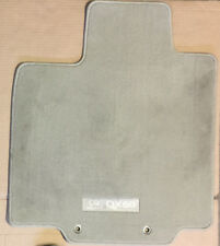 2014 - 2018 INFINITI QX60 OEM 4PC CARPETED FLOOR MATS SET, BEIGE - Cosmetic Wear