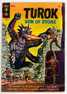 JERRY WEIST ESTATE: TUROK SON OF STONE #46 & 52 (Gold Key 1965-66) VG! NO RES!