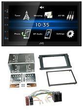 JVC 2DIN Bluetooth MP3 AUX USB Autoradio für Porsche Cayenne 2002-2007