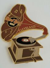 Hard Rock Cafe Cleveland Phonograph Record player HRC pin