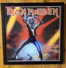 Iron Maiden Framed Art Print Maiden Japan Eddie Heavy Metal Music