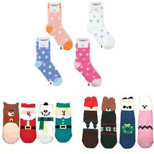 4 Pairs Unisex High Quality Soft Cozy Fluffy Winter Indoor Socks Size 9-11