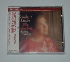 CD/SEALED NEU NEW/SCHUBERT LIEDER/ELLY AMELING/BALDWIN/Philips 35CD-3072 JAPAN