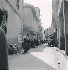 ALGÉRIE c. 1950 -  Population  Rue animée Commerce Constantine - Div 11403