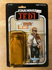 Star Wars ROTJ Prune Face Figure - 1983 Kenner 77-Back - Unopened MOC