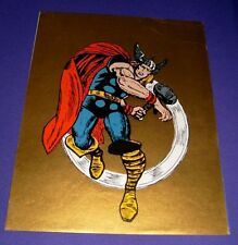 """The Mighty Thor Poster (1970, Marvel Super-Heroes MMMS) 15"""" x 19"""" Jack Kirby Art"""