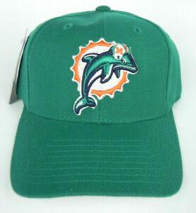 MIAMI DOLPHINS NFL PUMA ATA TEAL VINTAGE STRAPBACK OLD LOGO RETRO CAP HAT NWT!