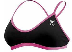TYR Women's Solid Trinity Bikini Top - 2021