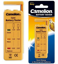 New Camelion BT-0503 battery tester ( for AA, 2A, AAA, 3A, 9V, C, D )