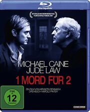 1 MORD FÜR 2 (Michael Caine, Jude Law) Blu-ray Disc NEU+OVP
