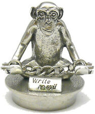 Jac Zagoory Pen Stand Mini Write No Evil Monkey Stand - New In Box