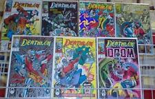 Deathlok 1-5, 21 & 25 1991 Marvel Comic Set