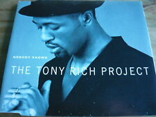 THE TONY RICH PROJECT - NOBODY KNOWS (4 TRK CD) (REF D7)