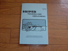 U S Department of The Army Sniper Training and Employment Handbook