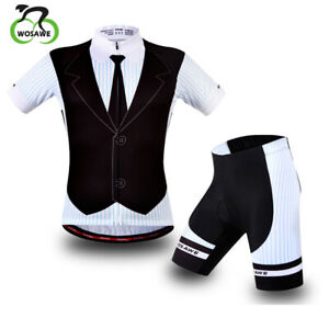 Cycling Jersey Padded Shorts Men Breathable Downhill Mountain Bicycle Clothes