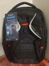 "New Targus Strike Gaming 17.3"" Laptop Backpack TSB900US Black"