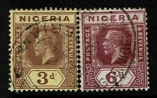Nigeria SG# 5a and 7, Used -  Lot 030117