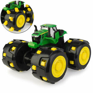 John Deere Monster Spike Treads Tractor/Truck Retractable Wheels Kids Toy/Play