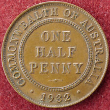 Halfpenny Australia 1932 (D2004)