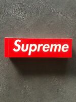 100% Authentic Red Box Logo Sticker