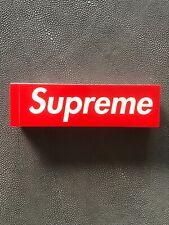 100% Authentic Red Box Logo Sticker