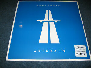 LP Kraftwerk - Autobahn - Special Edition Coloured Vinyl Neu Sealed