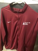 Nike Bank Of America Chicago Marathon Track Running Jacket American Airlines 2XL
