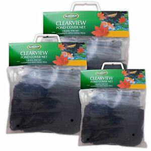 Blagdon Pond Cover Nets Fish Protector Black Netting Heron Cat Fox Leaves Fish