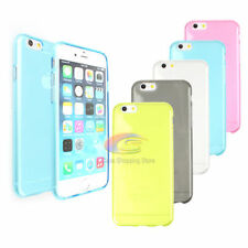 Transparent Silicone/Gel/Rubber Fitted Cases/Skins for Apple