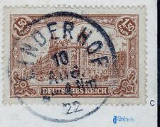 === DR Infla Mi. 114c auf Bildpostkarte, gepr. BPP, Kat. 250€ ===