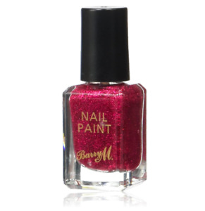 Barry M Nail Ruby Slippers Glitter Lacquer Polish Varnish Cosmetic FREE post