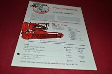 Massey Ferguson Price Comparison MF Vs. IHC Combines Harvest Topics YABE10